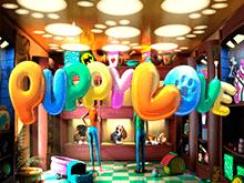 Игровой аппарат Puppy Love в зале клуба Вулкан