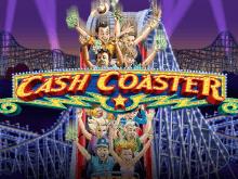 Поднимающий настроение виртуальный игровой аппарат Cash Coaster